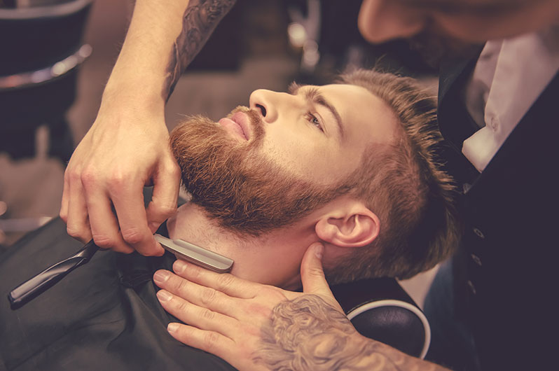 Paradise Grooming For Men Straight Razer Shaving Services
