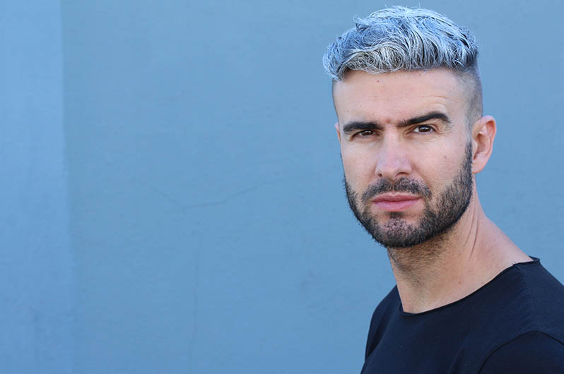 Paradise Grooming For Men Hair Coloring Service